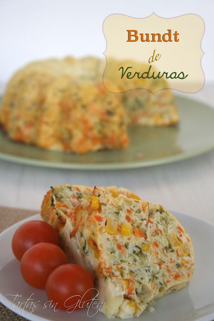 ¿Quién se anima con este delicioso Bundt de verduras sin gluten de @Tartas Eu Sin Gluten? #Recetas