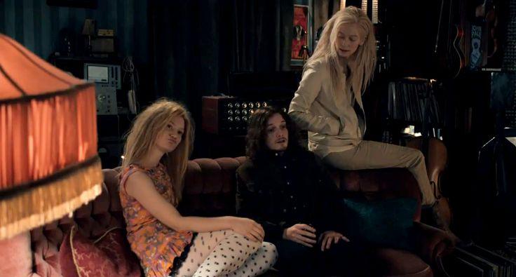 Mia Wasikowska, Anton Yelchin & Tilda Swinton (Only Lovers Left Alive)