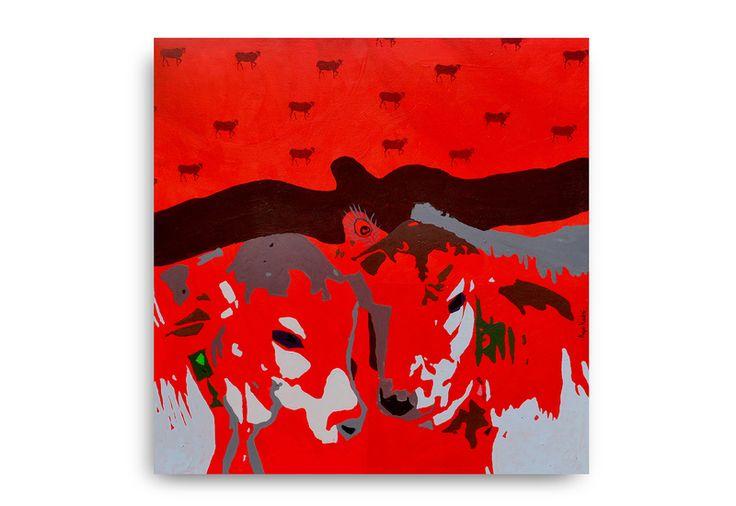Calves Painting. Discover @Treniq
