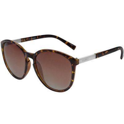 Óculos de Sol Euro Feminino Casco de Tartaruga OC035EU/2M - Marrom  A estampa de tartaruga é puro glamour! Nesta temporada a EURO traz modelos em diferentes cores para fazer a cabeça de mulheres modernas e ousadas!