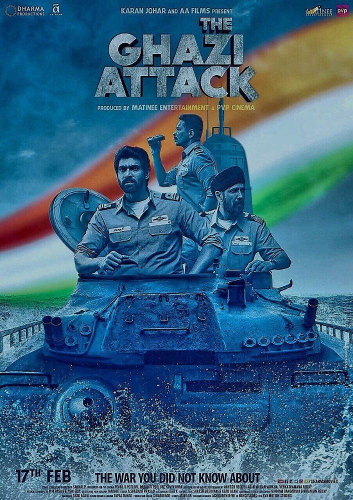 Watch The Ghazi Attack (2017) Full Movie Online DVDRip/720p/1080p — WRmovies.net