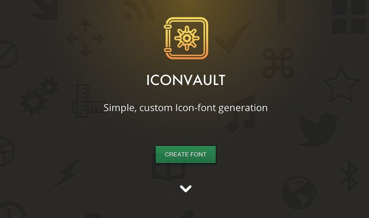 Icon Vault - Another cool icon font generator.