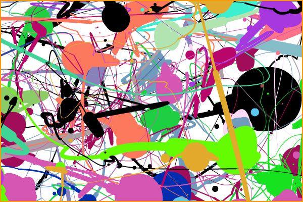 Jackson Pollock- Me