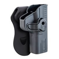Caldwell Tac Ops Molded Retention Holster, Glock 42, Right Hand: Caldwell Tac Ops Molded Retention Holster, Glock 42, Right Hand