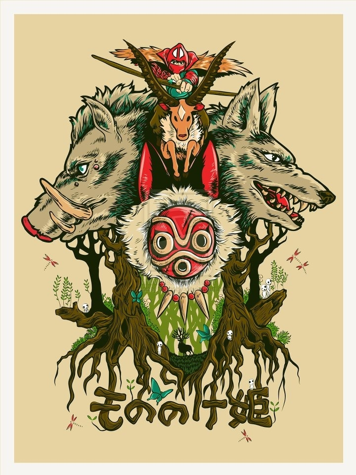 princess mononoke question Reader q&a to ask other readers questions about the art of the princess mononoke, please sign up be the first to ask a question about the art of the princess mononoke.
