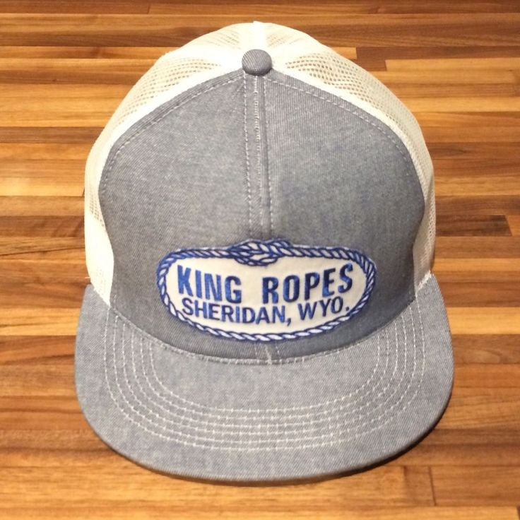 dbeebe1f0c83c3 King Ropes denim and white mesh trucker hat, Emo, vintage cowboy, Pharrell  | Style and such | Hats, Cowboy hats, Hooey hats
