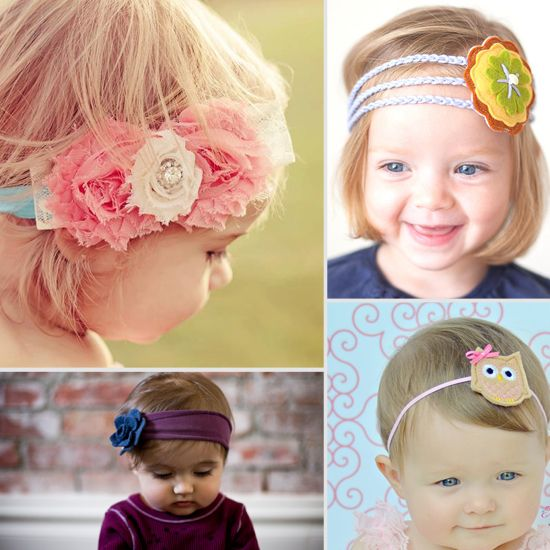 Sweet Baby! 7 Adorable Handmade Headbands