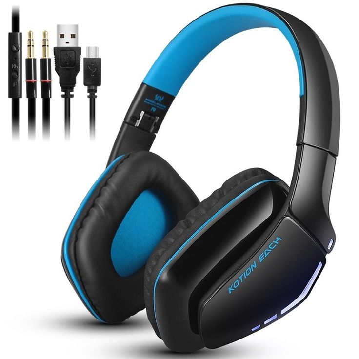 Best price US $22.94  Kotion EACH B3506 Foldable Wireless Bluetooth Headphones casque Hifi Bass Stereo Headset with Mic for Phone PS4 Tablet PC Gamer   Provide product: DVR