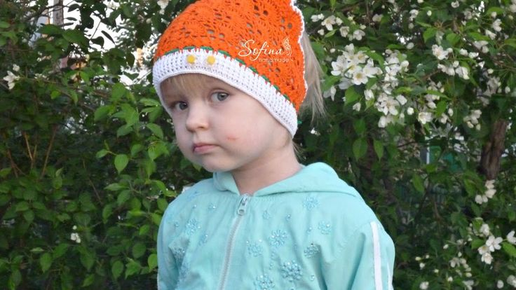 DIY How to crochet a children's hat /Part 1/Olesya