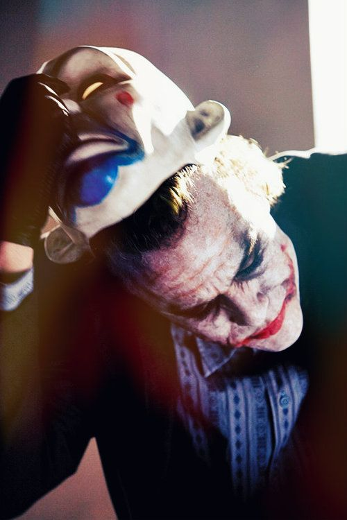 In preparation for his role as The Joker,Heath Ledgerhid away in a motel room for about six weeks. During this extended stay of seclusion, Ledger delved deep into the psychology of the character. He devoted himself to developing The Joker's every tic, namely the voice and that sadistic-sounding laugh.