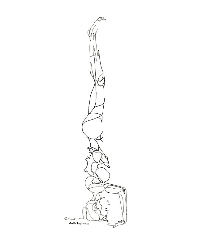 Line Drawing Yoga Pose : Best ideas about yoga painting on pinterest buddha