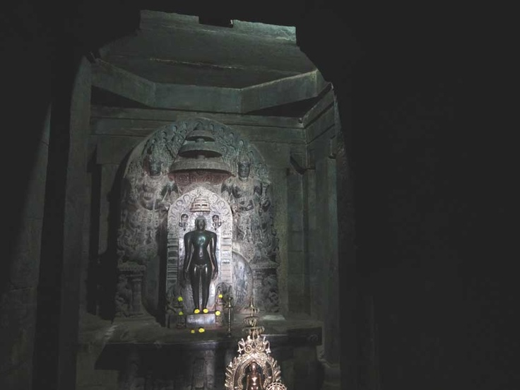 Neminath-Jain tirthankara, Bramha Jinalaya Jain temple, Lakkundi, Gadag, India