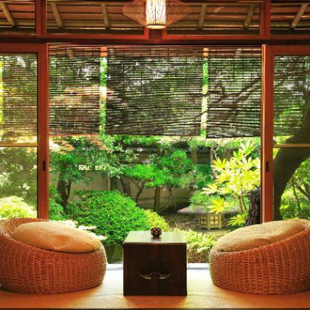 Outdoor Japanese Living Room Ideas
