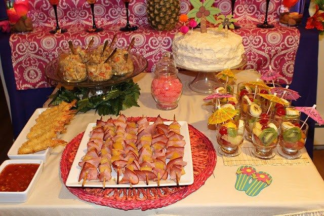 Best 25 Luau Party Foods Ideas On Pinterest: 38 Best Hawaiian Theme Graduation Party Images On