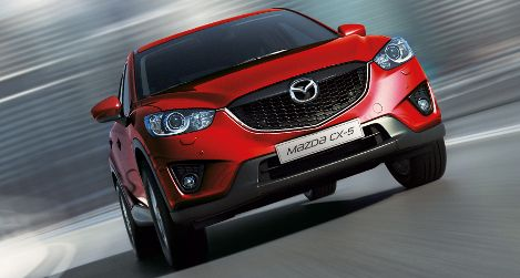 Another new and blinding ugly vehicle. What were Mazda thinking with this gaping maw corporate grille. Total fail