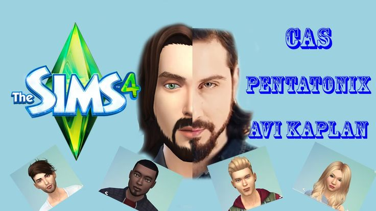 The Sims 4 CAS - Pentatonix - Avi Kaplan