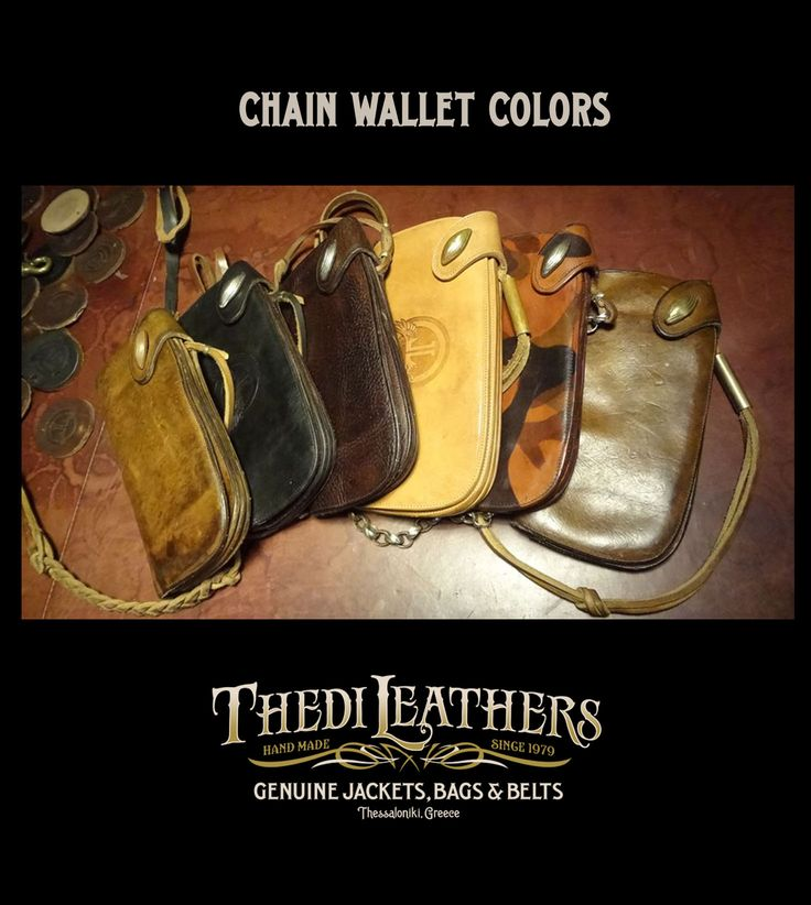 #thedileathers #leather #handmade #chainwallet #colors #brown #balck #TCW051 #thediwallet www.thedileathers.com