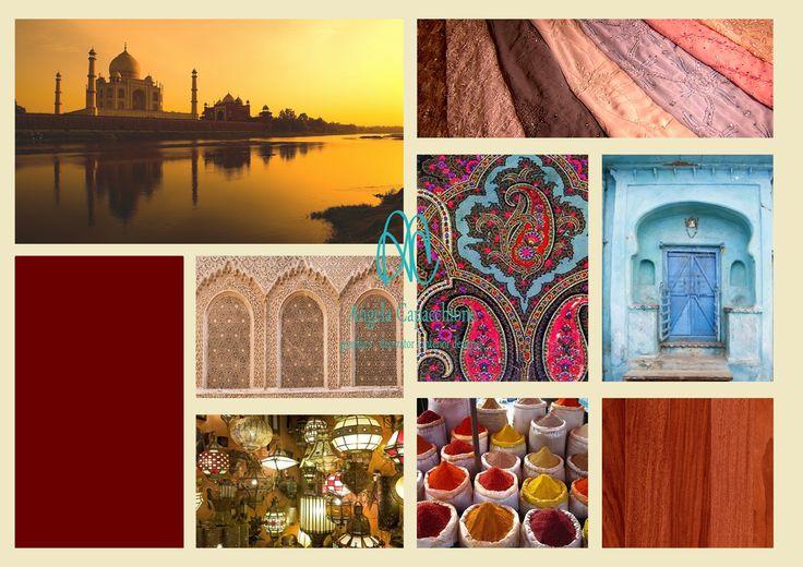 #INDIA I toni caldi e forti, i #profumiorientali ci trasportano in questa meravigliosa parte del mondo.