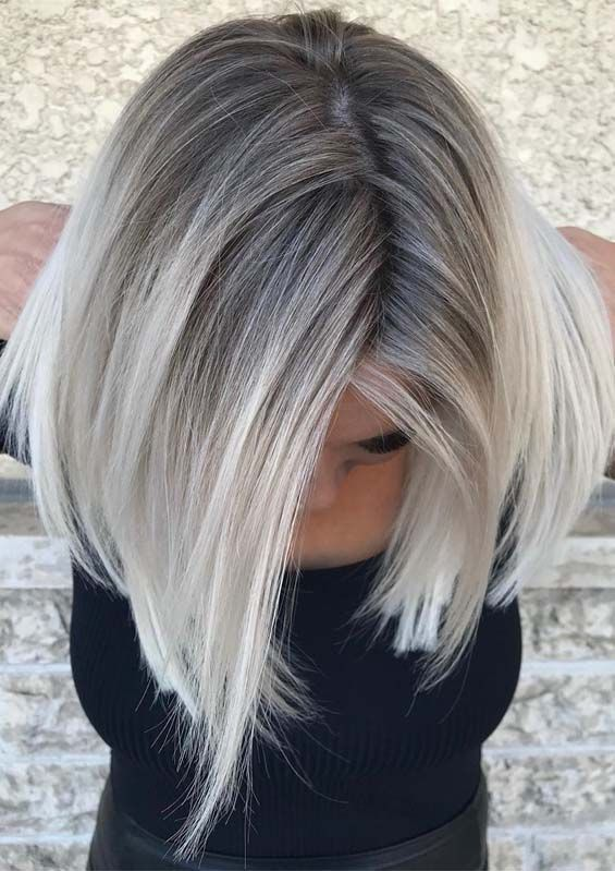 Hottest Blonde Shades With Dark Roots To Wear In 2019 Blonde Hair Shades Blonde Hair With