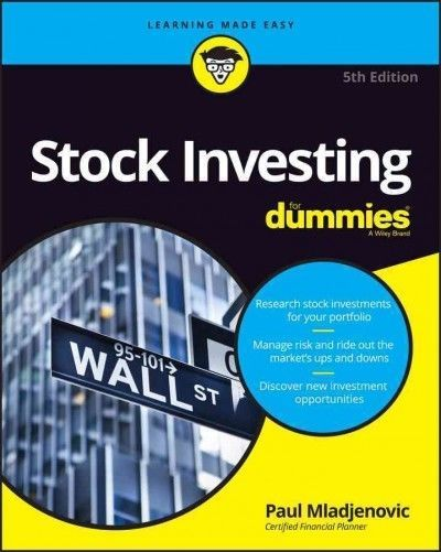 Stock Investing For Dummies 5th Edition