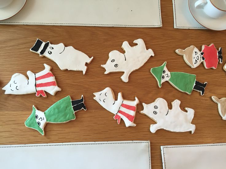 Muminkakor. Moomin biscuits.