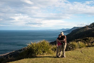 Back at Otford Lookout at the end of our 6-hour walk - Otford to Figure 8 Pools Circuit, Royal National Park