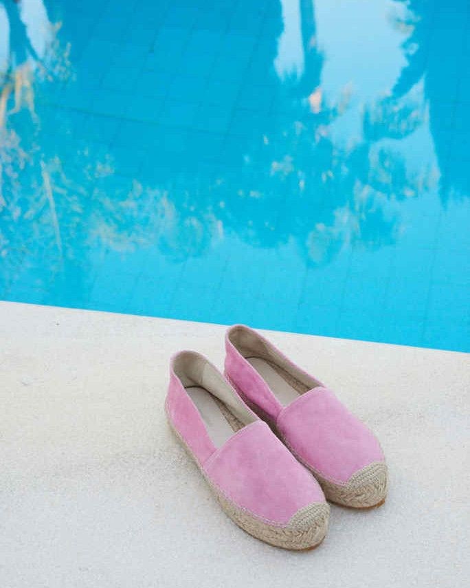 #Nanushka TAPA Espadrilles, Pink