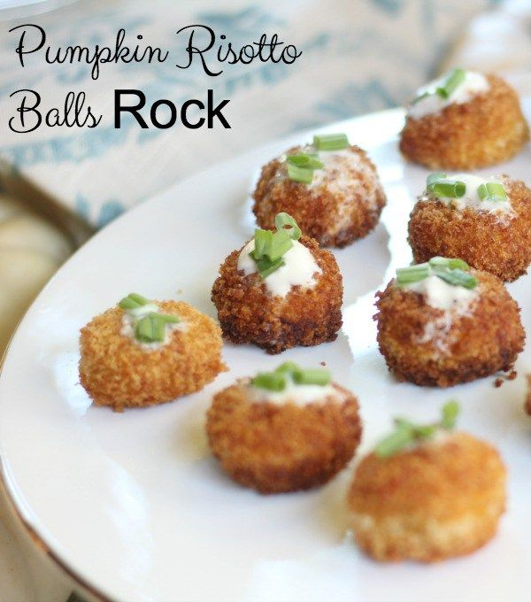 Pumpkin Risotto Bites Need to Be in Your Recipe Box