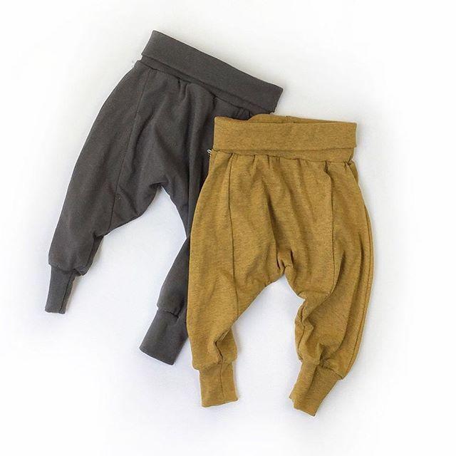 Organic cotton harem pants