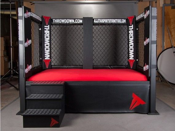 Throwdown Mma Cage Bed Sports Themed Furniture Twin Full