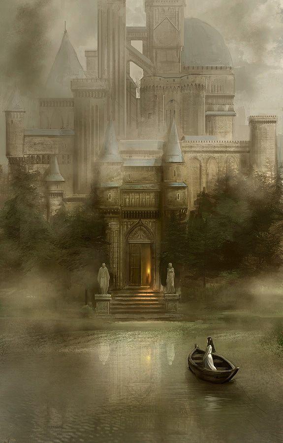 Scenery #Art #fantasy #illustration