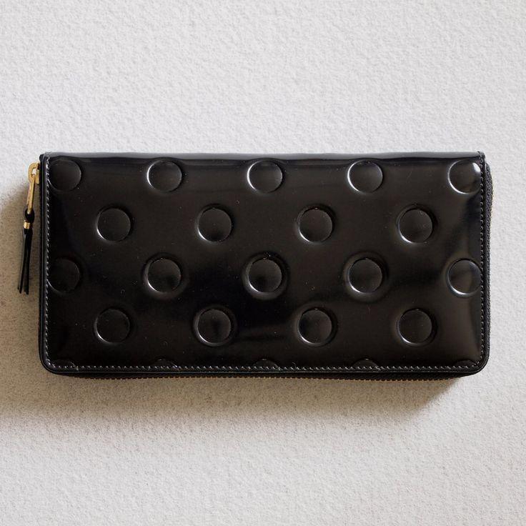 Wallet Comme des Garcons - ZIP長財布 SA0110NE #black