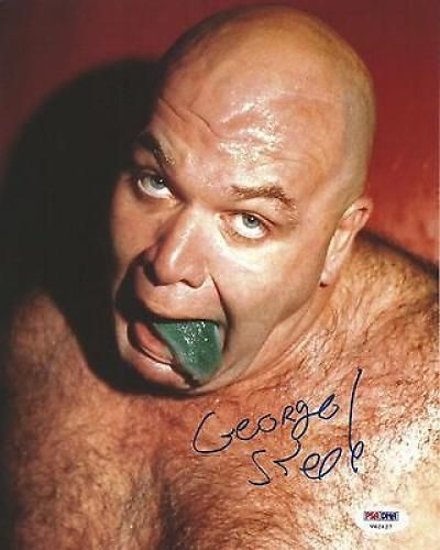 WWF George the Animal Steele | George The Animal Steele Signed 8x10 Photo…