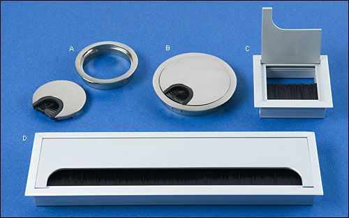 Metal Cable Grommets - Hardware