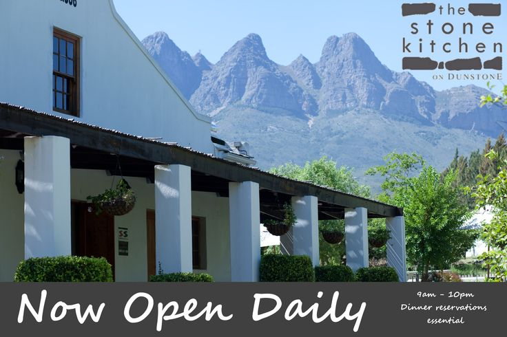 The Stone Kitchen is now open daily. Reservations for dinner essential #heartWellington #WineAndDine