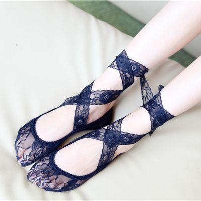 Sweet lace ballet socks