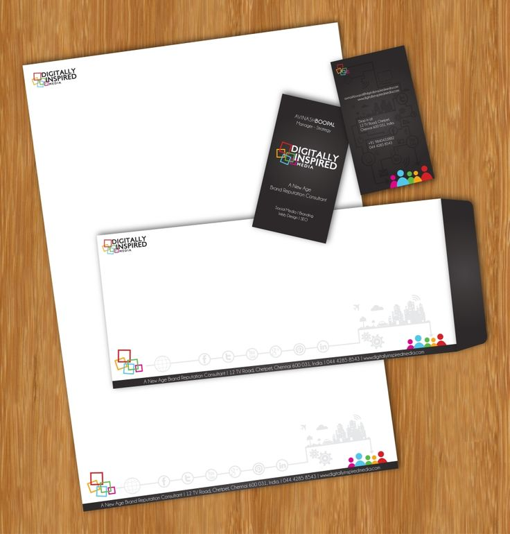 DI-Corporate Identity #digitallyinspired #design