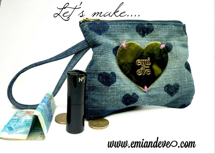 Our first DIY workshop. Make a Give Love clutch to give away this Christmas!
