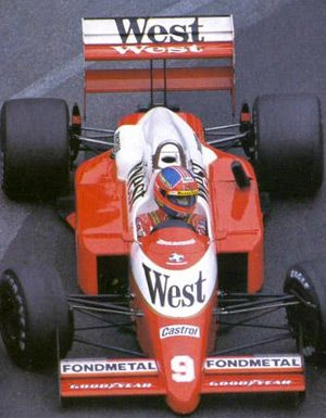 Piercarlo Ghinzani - 1988 - Monaco GP - Zakspeed 881