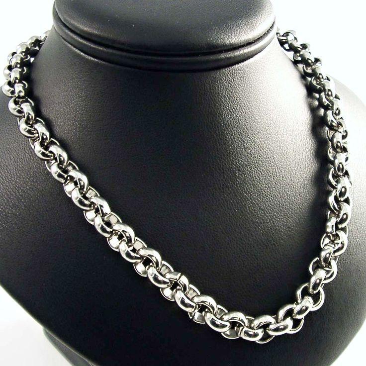 Elegantní náhrdelník zn. EXEED, vyrobený z chirurgické oceli v leštěném provedení. Šířka náhrdelníku: 1 cm. Odkaz na WEBSHOP: http://www.ocelovesperky4u.cz/ocelove-nahrdelniky-retizky/ocelovy-nahrdelnik-exeed-rings-1cm-193a