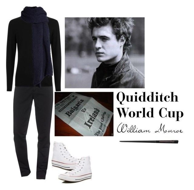 """Quidditch World Cup (Will)"" by ateliana on Polyvore featuring Converse, Kenzo, I Love Mr. Mittens, men's fashion and menswear"