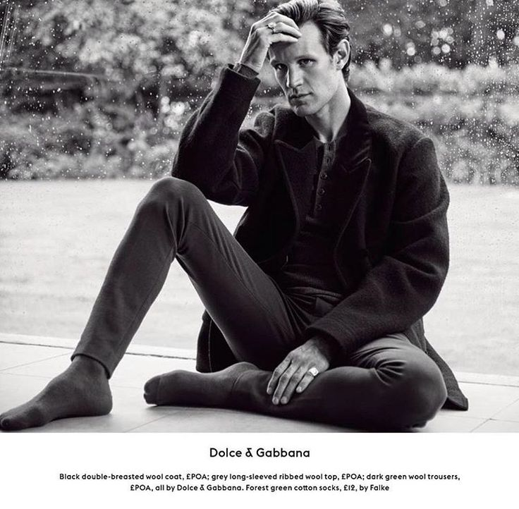 A Doctor a day/Matt Smith for Esquire UK, December 2016 issue