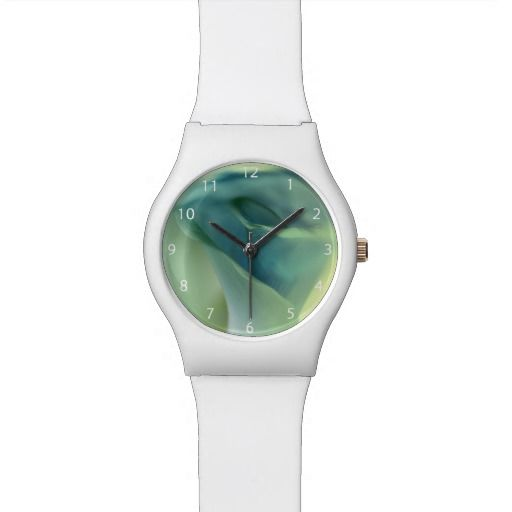 Romantic Flower in Blue Tones / May28th Wrist Watch #fomadesign