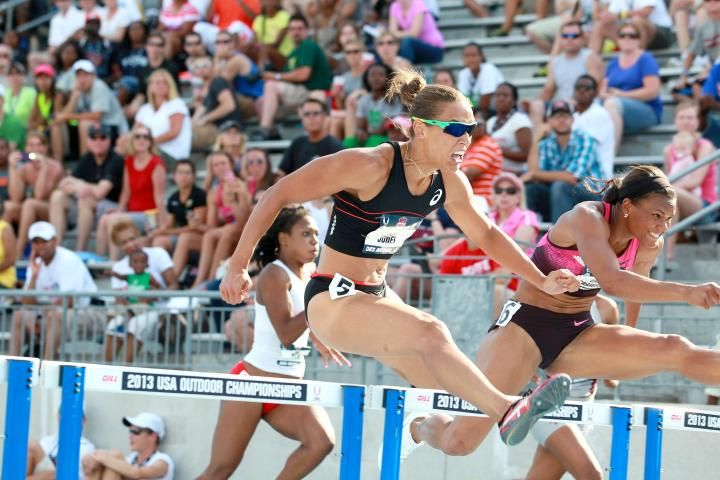ArmoryTrack.com - News - Olympian Lolo Jones is Back on Her Feet for Great Feats At NYRR Millrose Games; Bills' Goodwin Eager To Support His Claim as NFL's Fastest Player