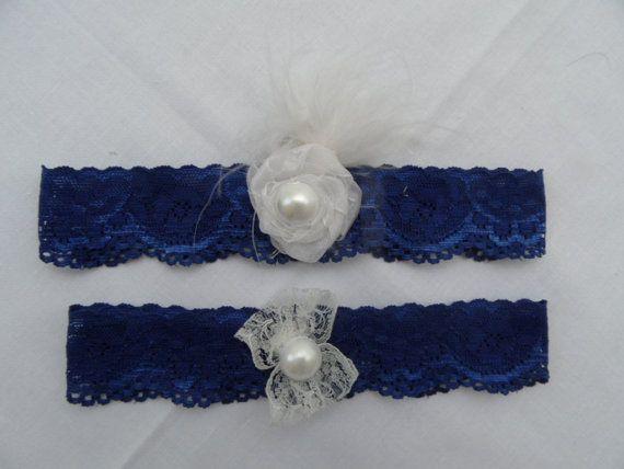 FREE SHIP garter set wedding garters bridal garters by geranum, $18.90