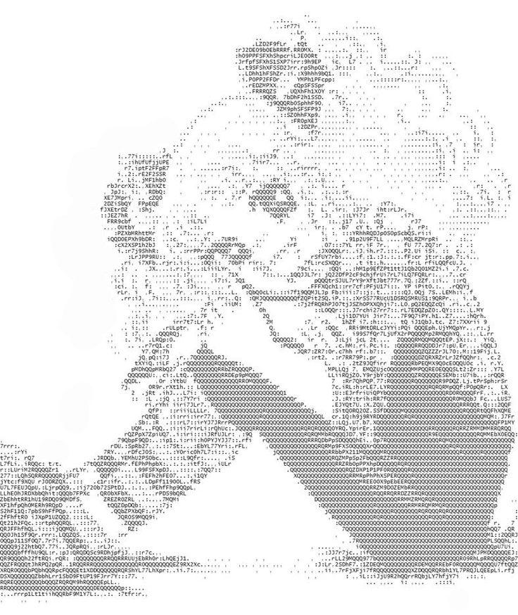 anime ascii 788 936 ascii text art. Black Bedroom Furniture Sets. Home Design Ideas