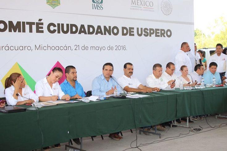 El gobernador de Michoacán indicó que este esquema de apoyo se replicará en otras comunidades del estado; instruyó a titulares de diversas áreas de su administración a que den puntual ...