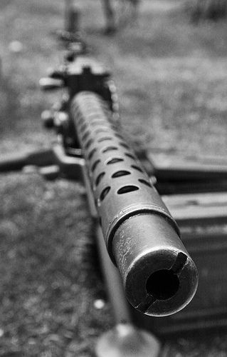 World War II Guns - historic look at the guns of WW II. First hand look at what soliders of World War used in combat. This type of source provides primary information for the topic.