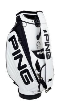 "Ping Golf 9.5"" Tour Staff Bag White/Black"