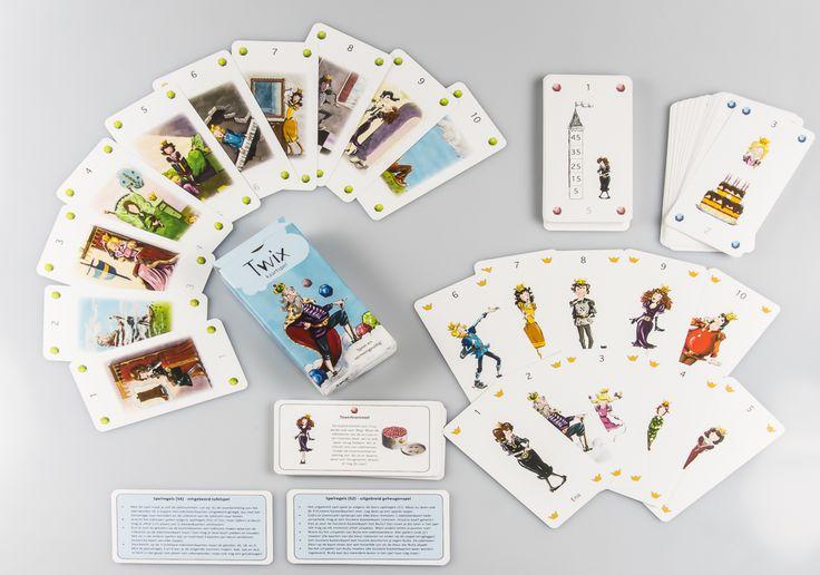 Twix kaartspel - Speel en vermenigvuldig!